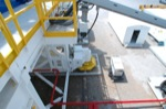 Rig Skid Walking System Top View